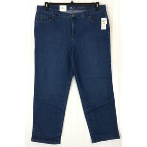 Style & Co jeans straight high rise tummy control